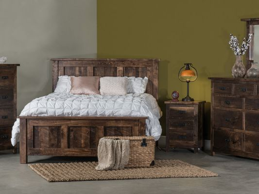 Elsmere Rustic Bedroom Collection
