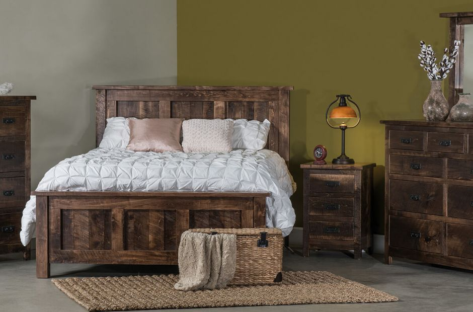 Elsmere Rustic Bedroom Set image 1
