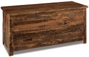 Rustic Sawn Hope Chest