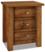 Harper 3-Drawer Nightstand