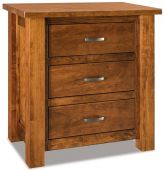 Harper Tall 3-Drawer Nightstand