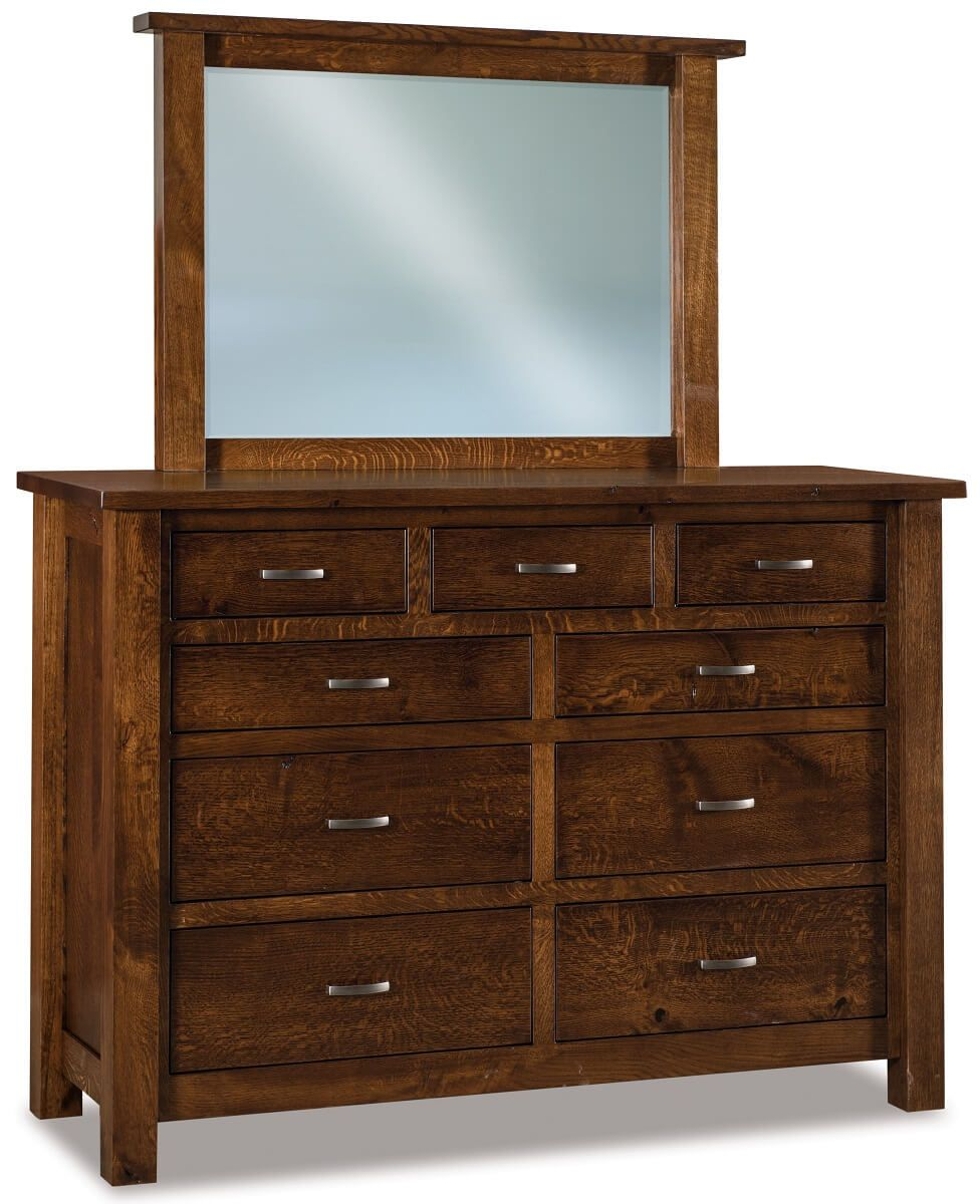 Harper Tall Mirrored Dresser