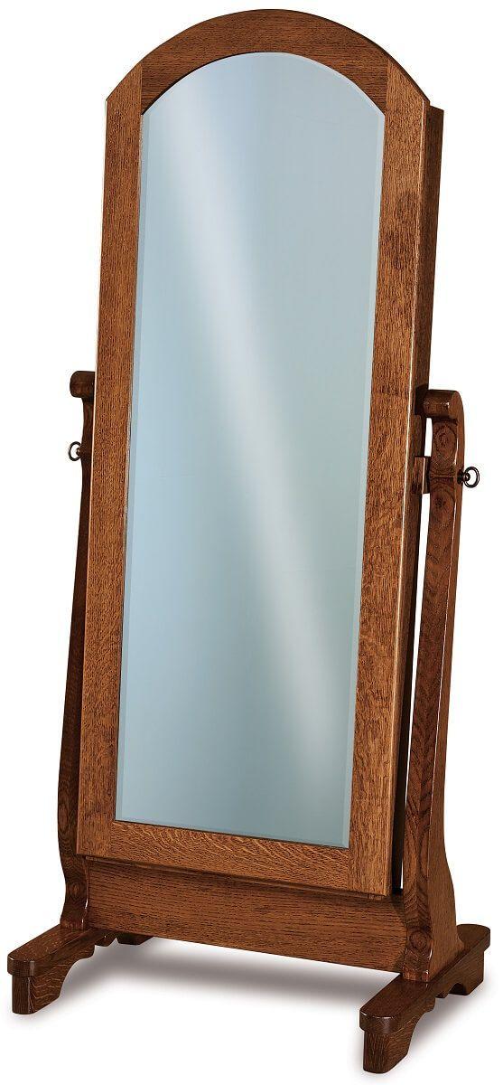 Milwaukee Sleigh Cheval Mirror