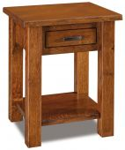Muskegon 1-Drawer Nightstand