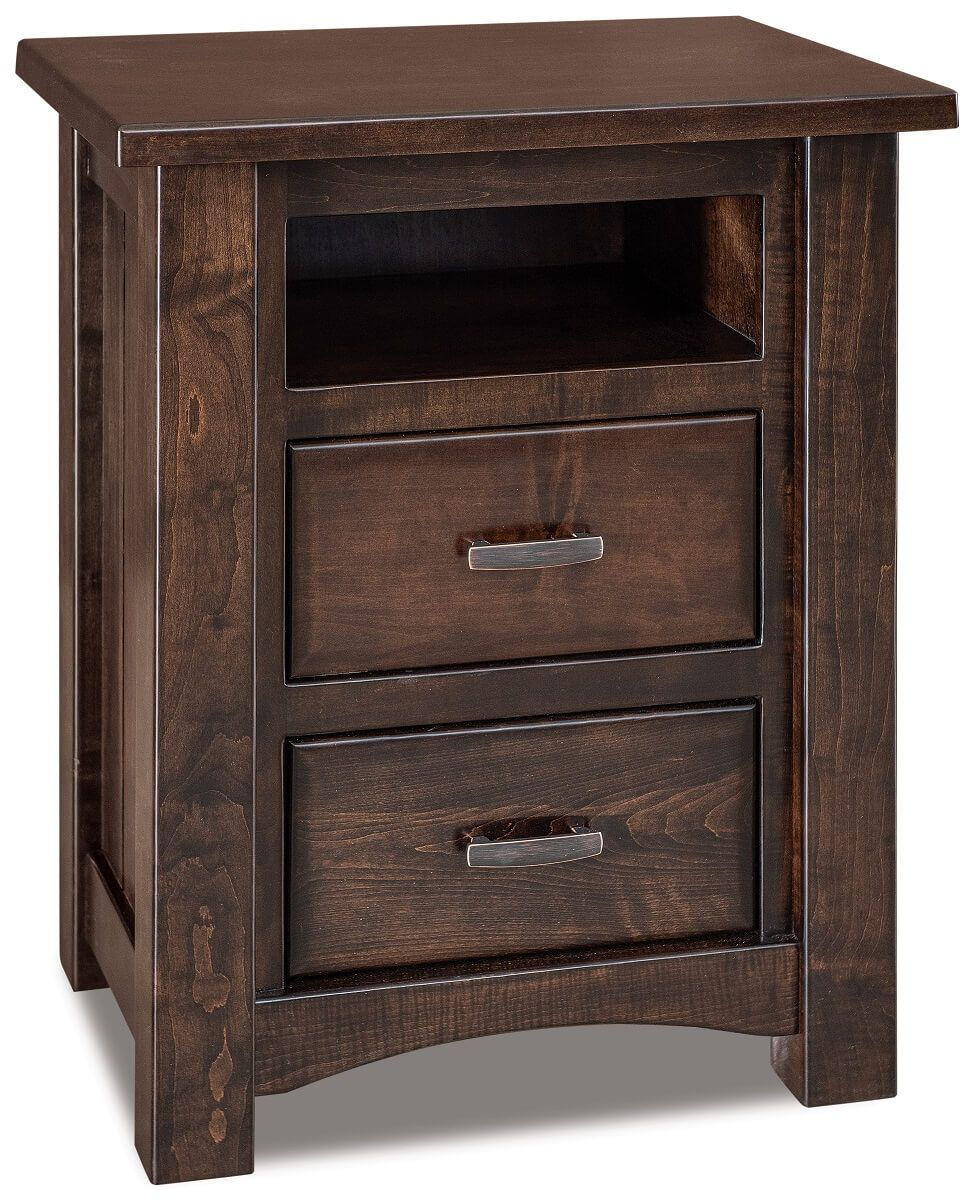 Muskegon 2-Drawer Nightstand