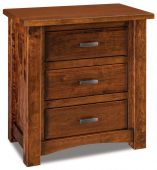Muskegon 3-Drawer Nightstand