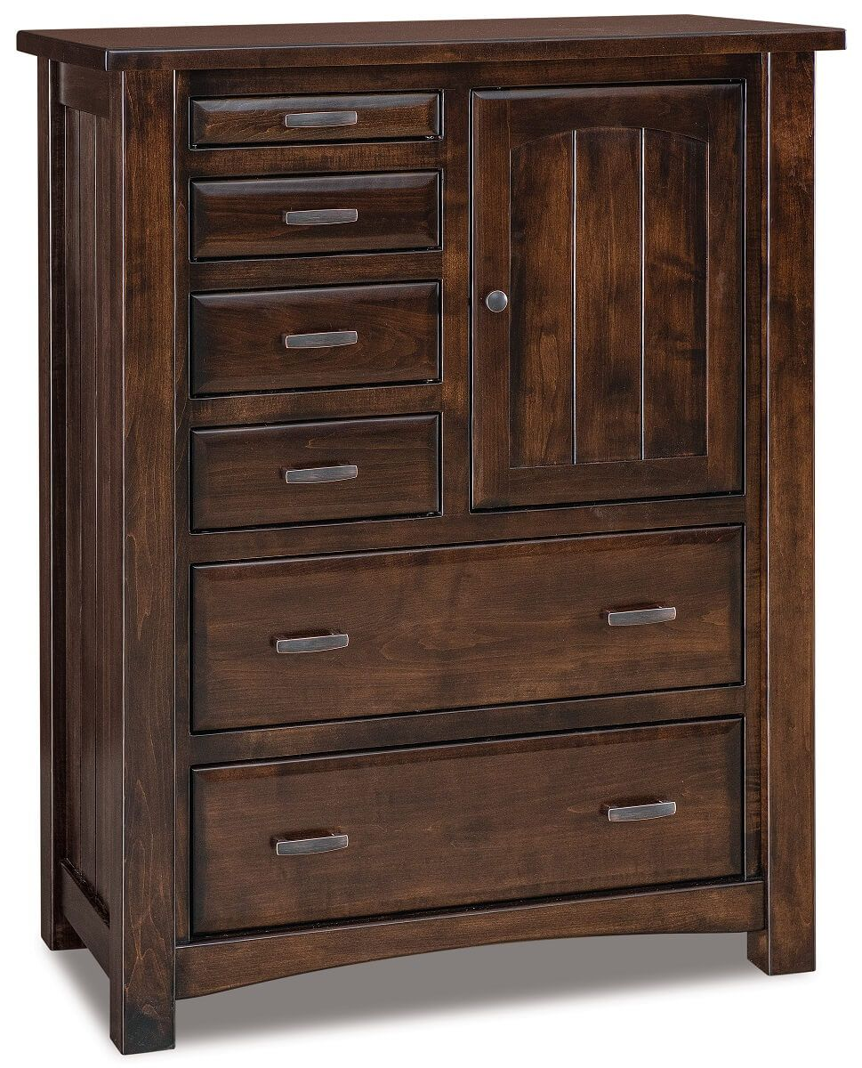 Muskegon Wood Gentleman S Chest Countryside Amish Furniture