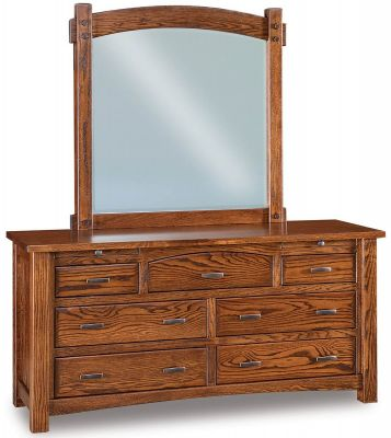 Muskegon Jewelry Dresser And Mirror Countryside Amish