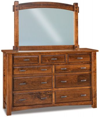 Muskegon Mirrored Dresser Countryside Amish Furniture
