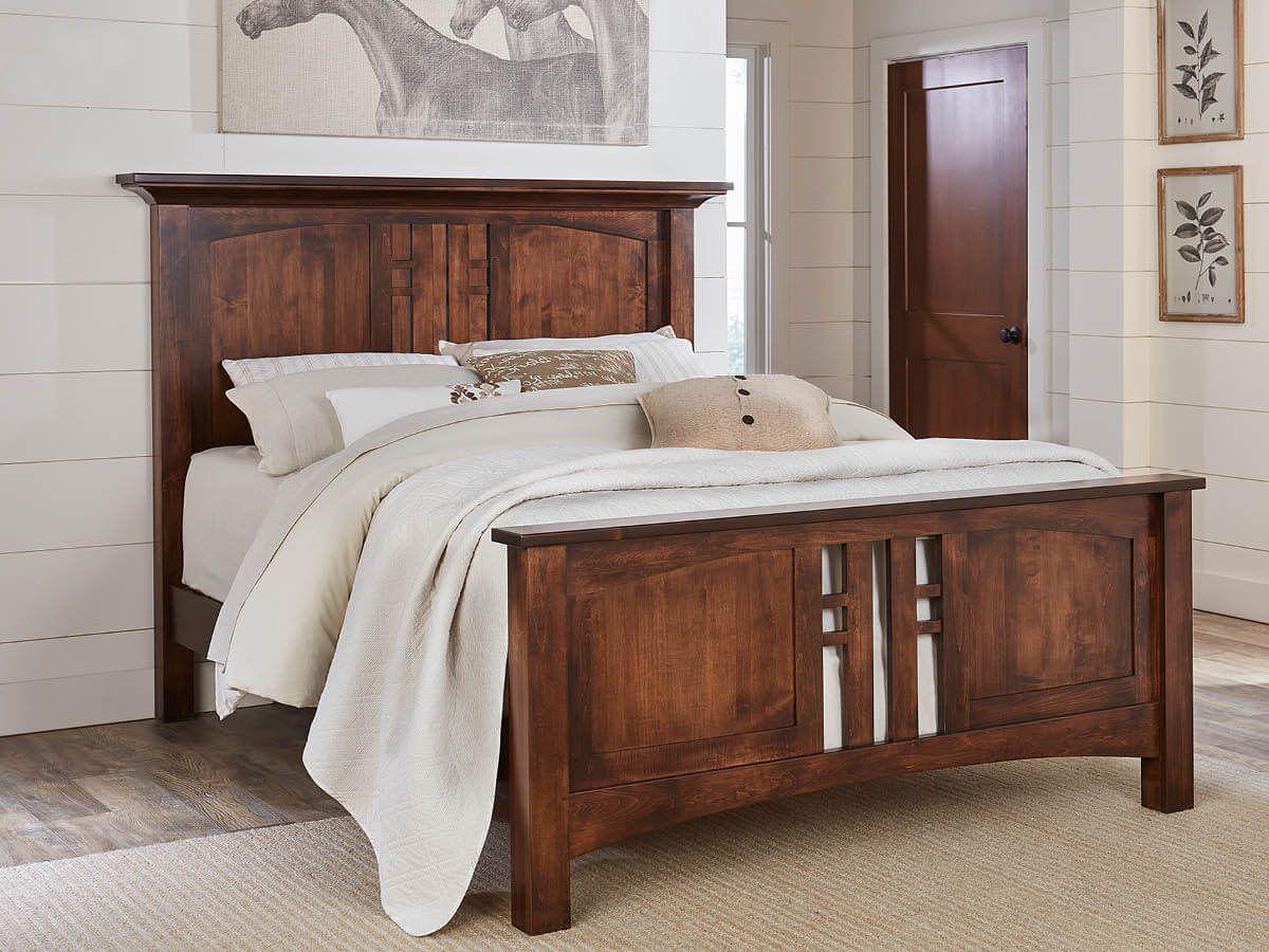 Amish Made Craftsman Bed