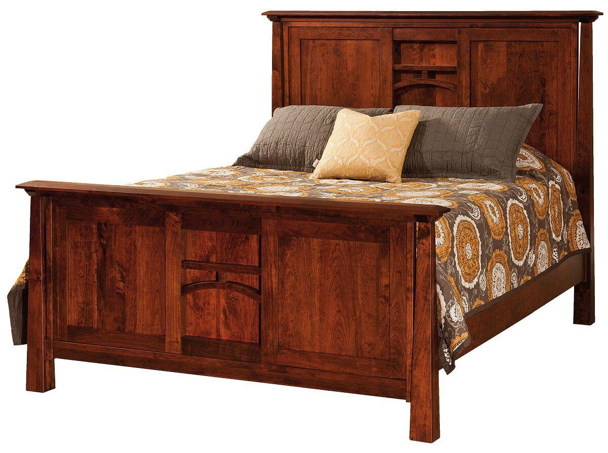 Bellevue Rustic Panel Bed