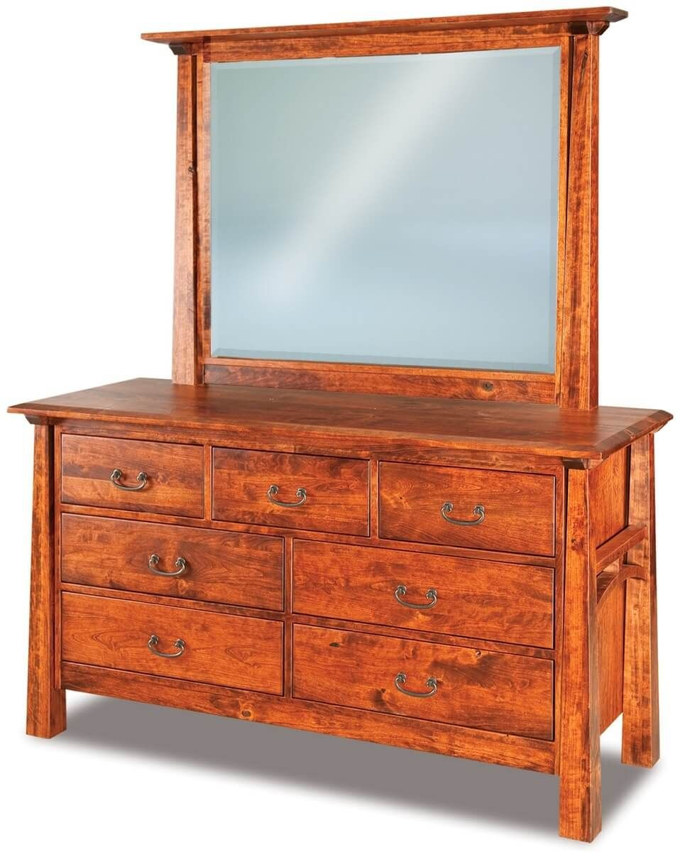 Bellevue Mirror Dresser