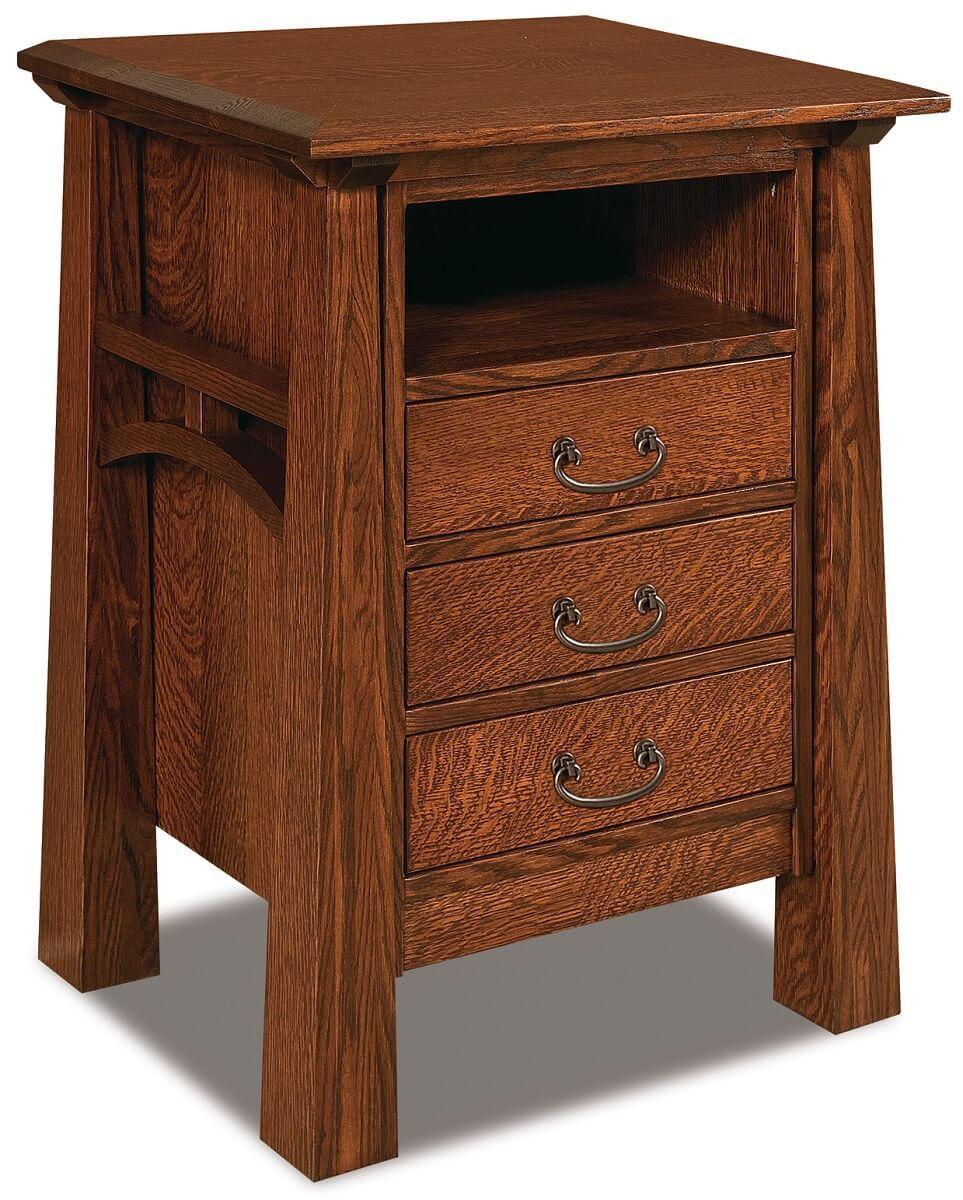Bellevue Solid Wood Amish Nightstand