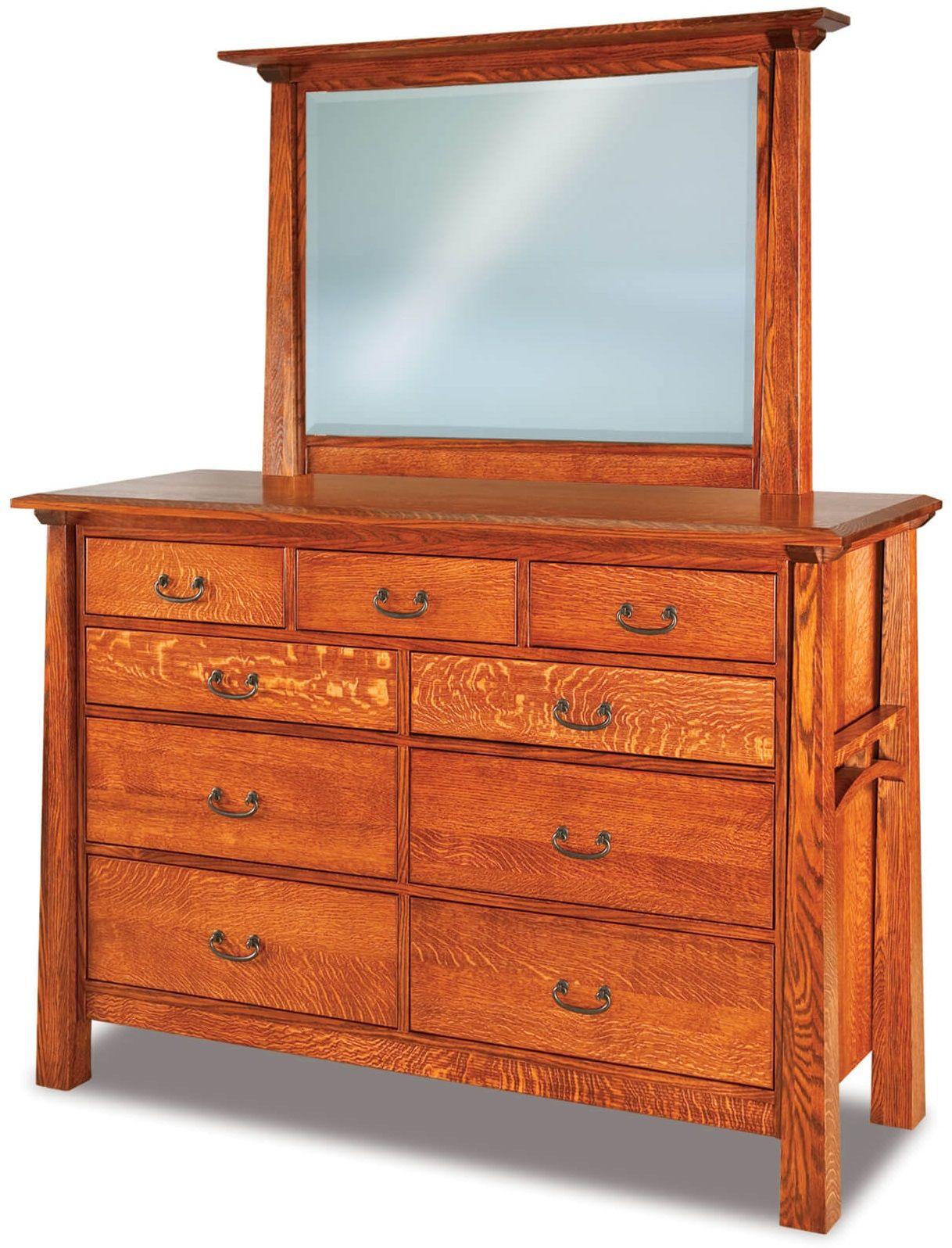 Bellevue Tall Dresser with Mirror