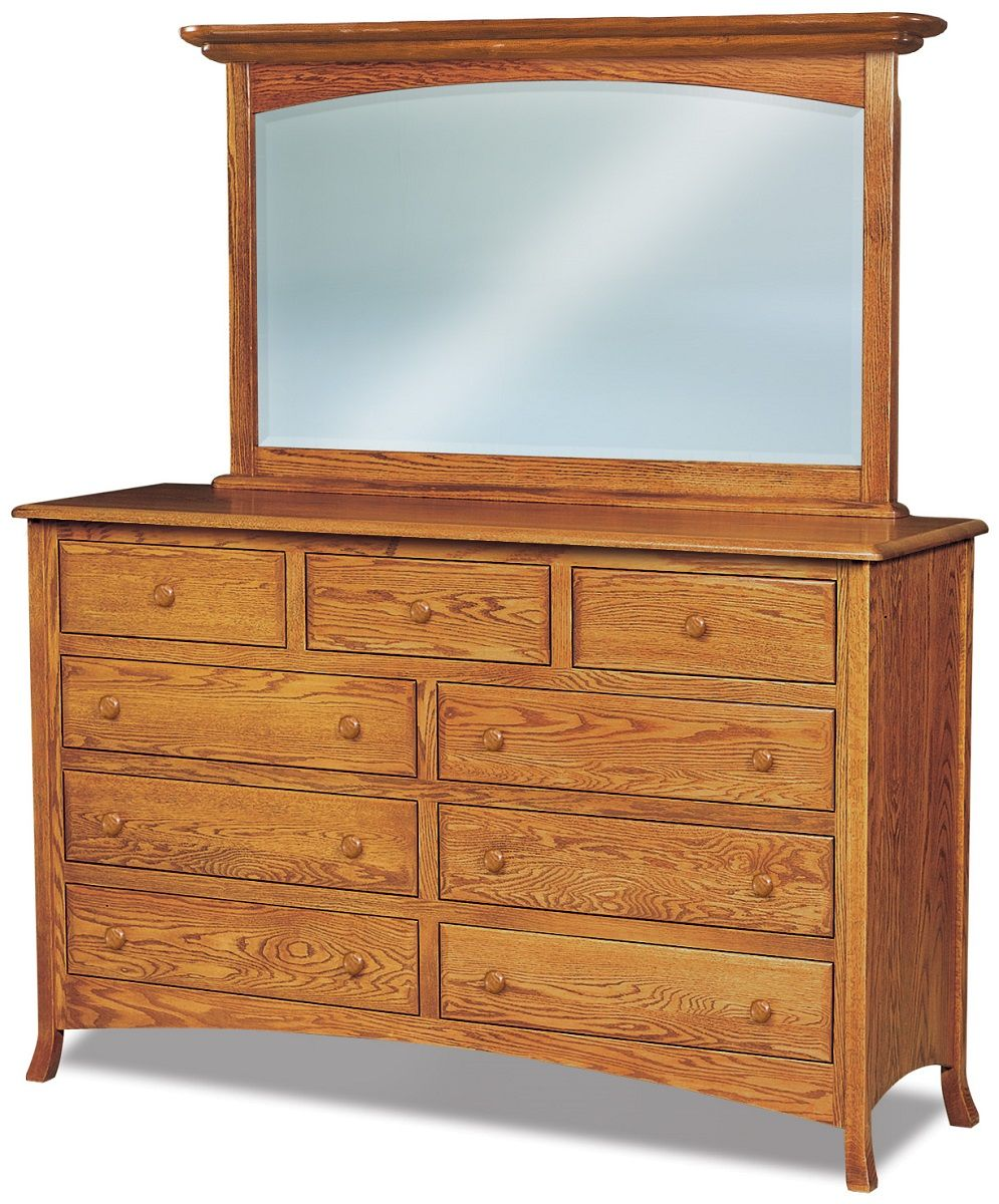 Bradley Mirror Dresser