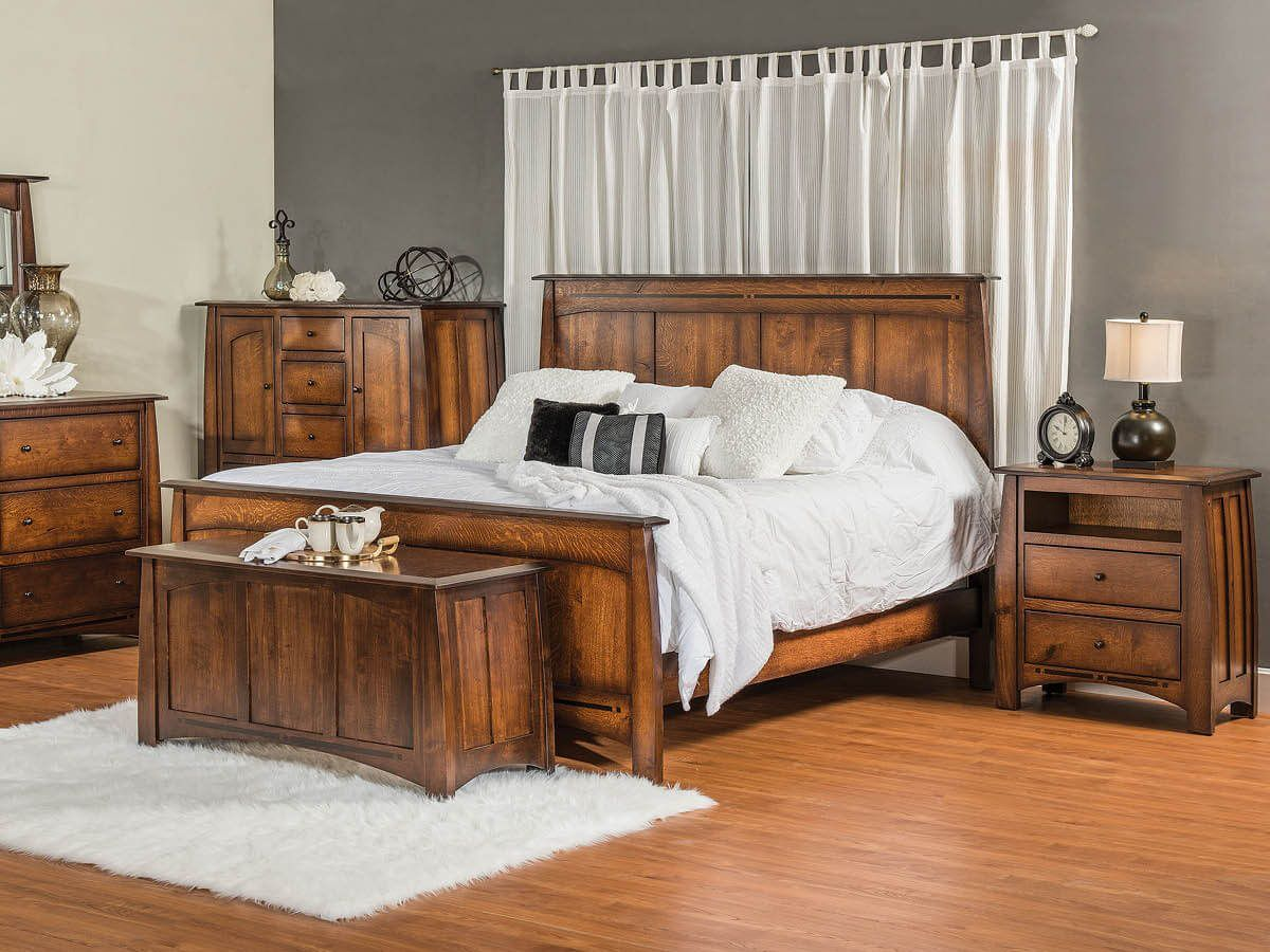 King Sized Amish Bedroom Collection