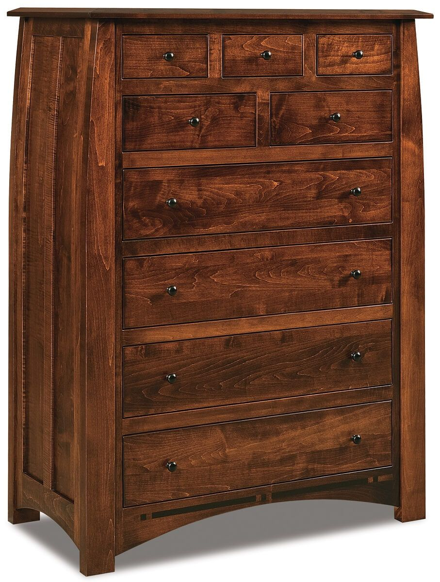 Castle Rock Chest with Drawers