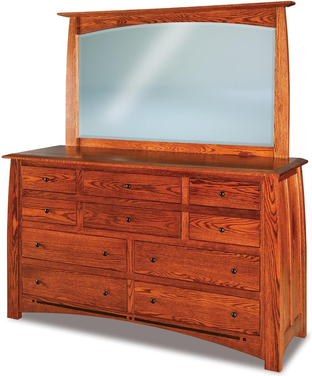 Castle Rock Dresser with Mirror