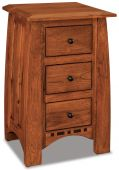 Castle Rock Small 3-Drawer Nightstand