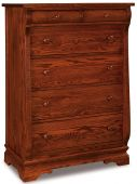 Milwaukee Sleigh 6-Drawer Chest
