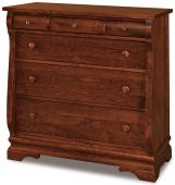 Milwaukee Sleigh 6-Drawer Child's Chest