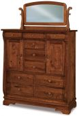 Milwaukee Sleigh Bedroom Chest