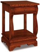 Milwaukee Sleigh Open Nightstand