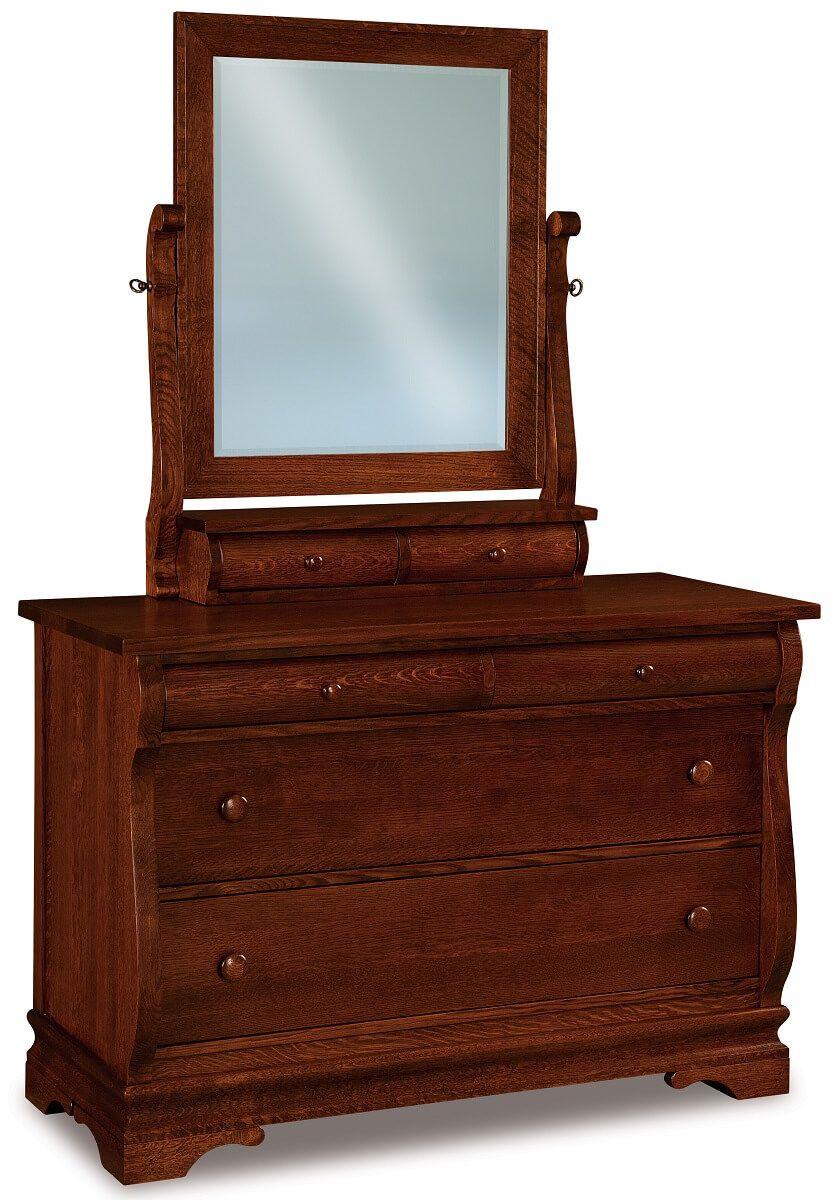 Milwaukee Sleigh Small Dresser