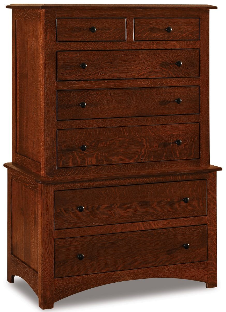 Norway 7-Drawer Double Chest