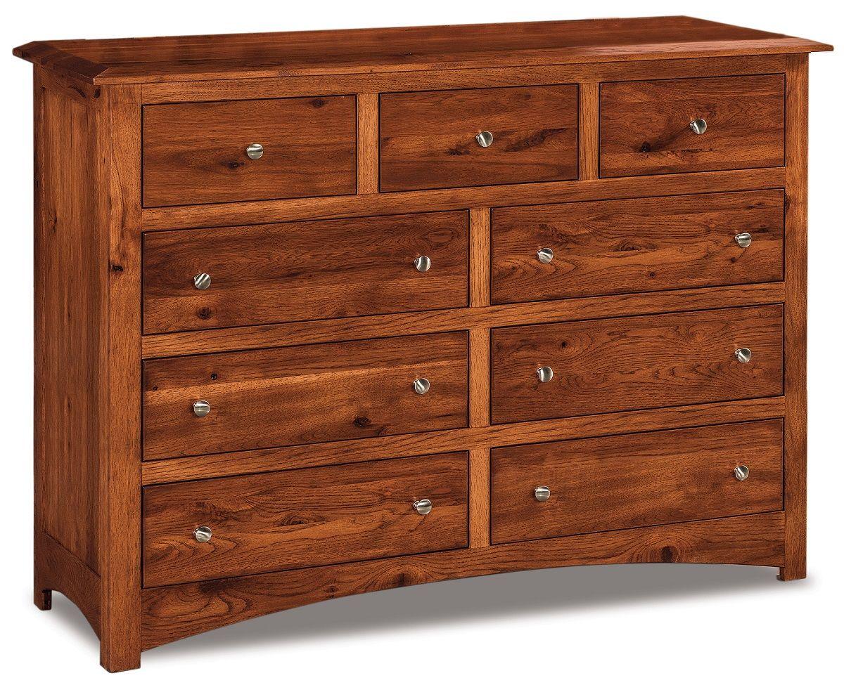 Norway 9-Drawer Dresser