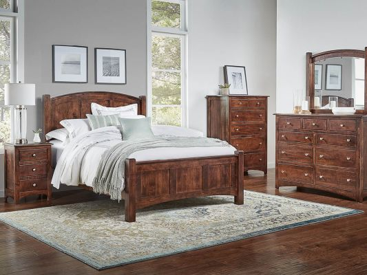 Brown Maple Bedroom Collection