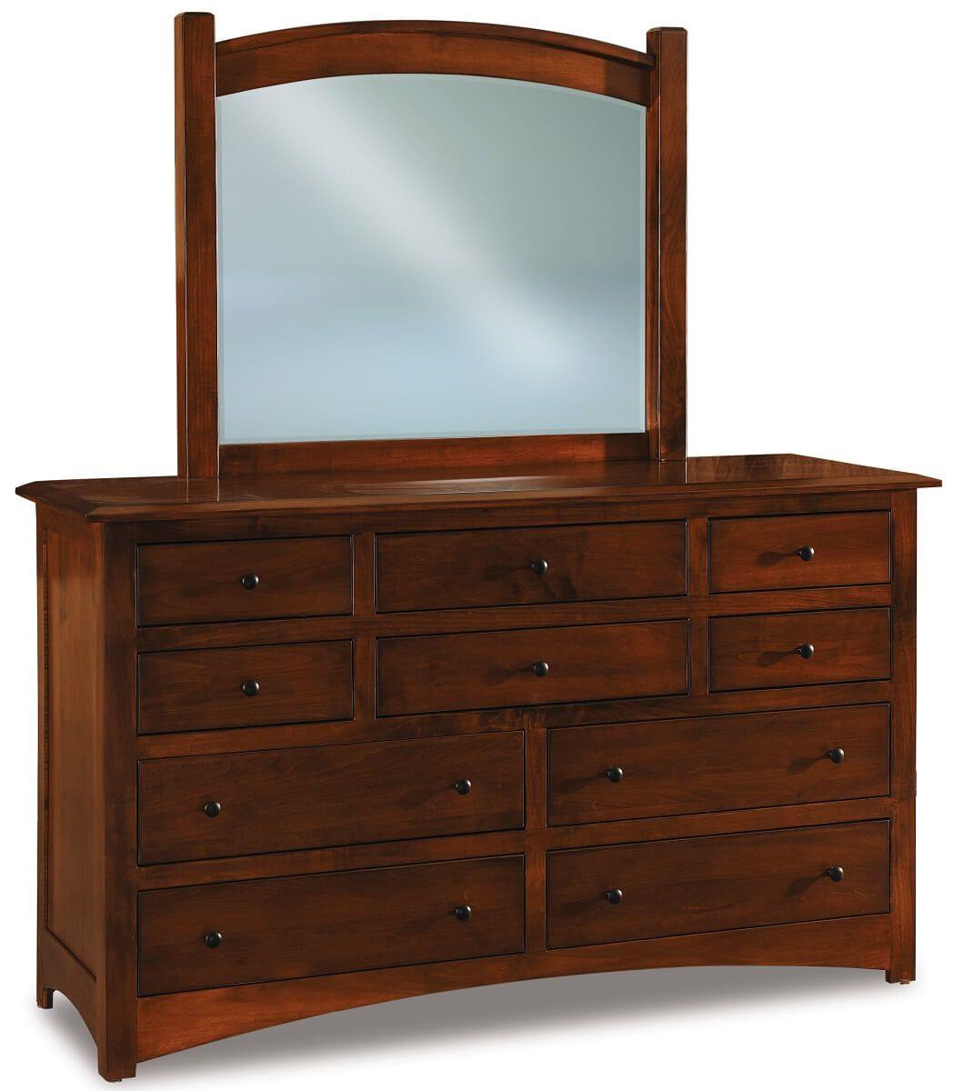 Norway Large Mirror Dresser