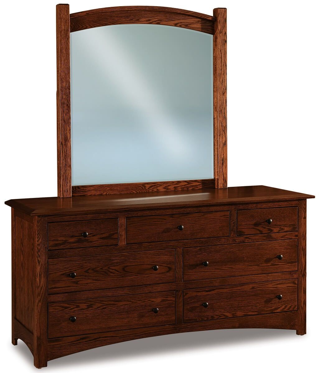 Norway Low Mirrored Dresser