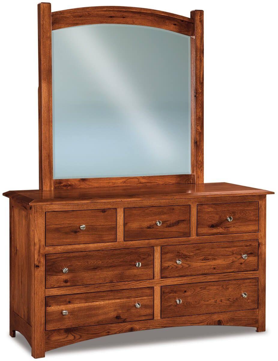 Norway Low Mirror Dresser