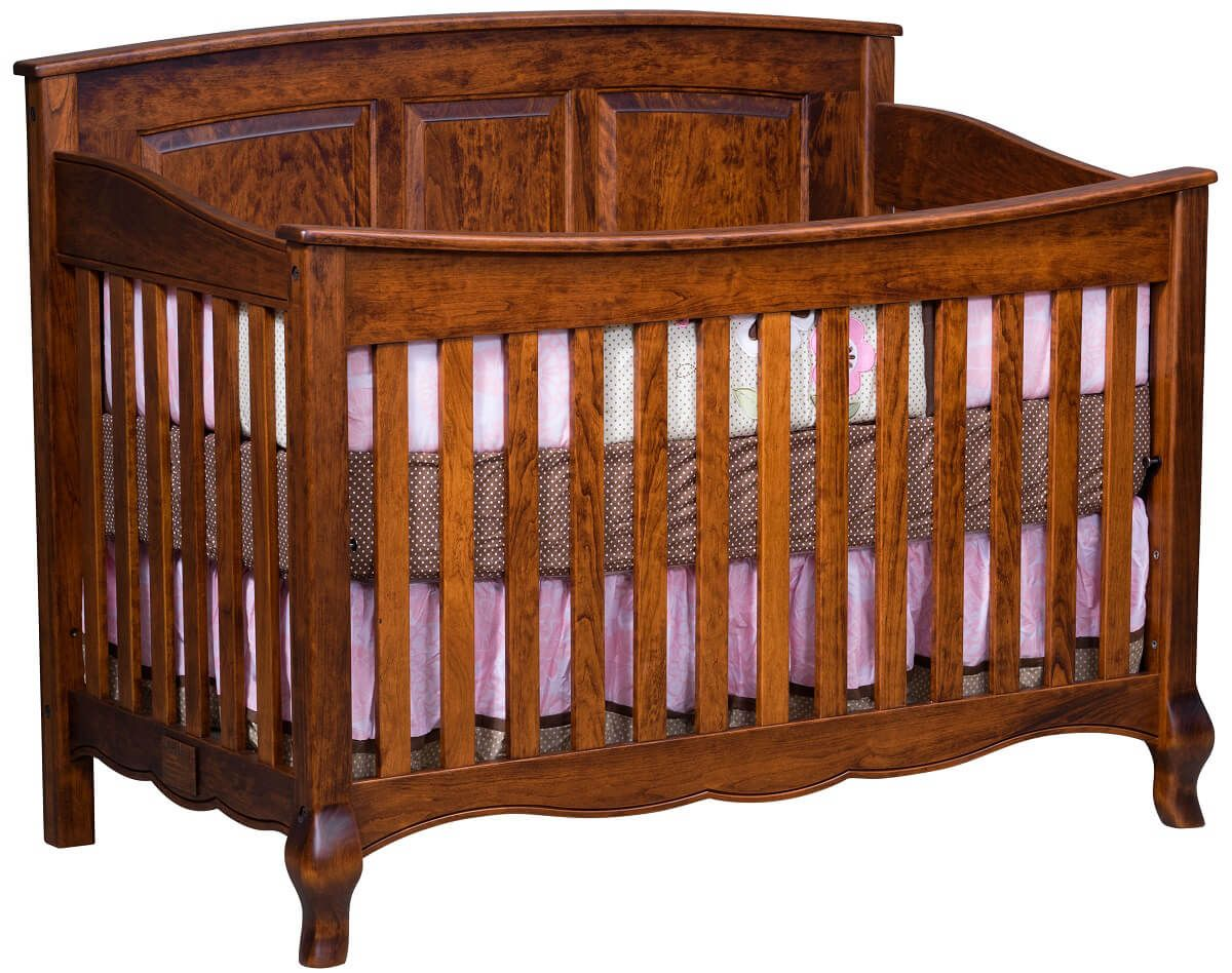 Country Cottage Slat Baby Crib