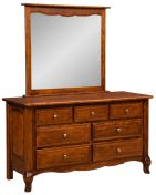Country Cottage Mirror Dresser