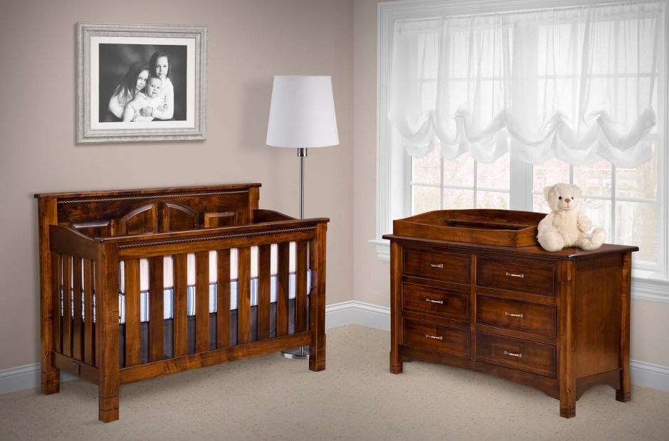 Great Bear Baby Furniture Set Countryside Amish Furniture