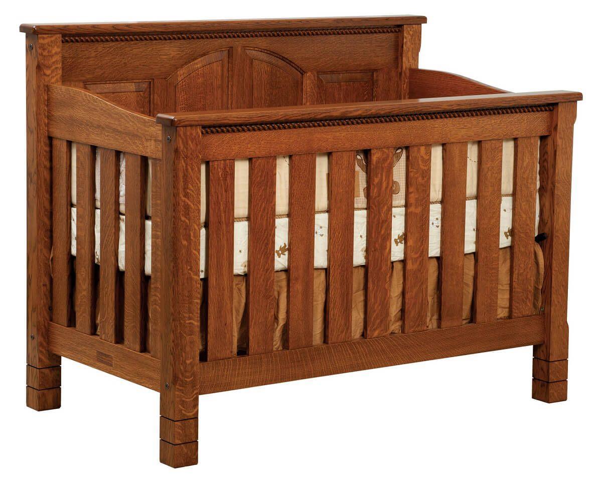 Great Bear Solid Wood Baby Crib