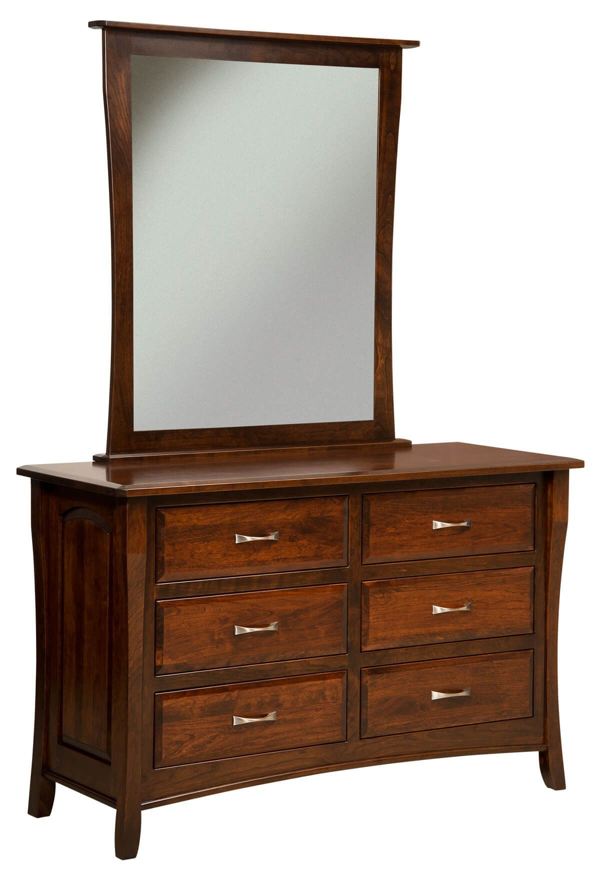 Luxembourg Bedroom Dresser with Mirror