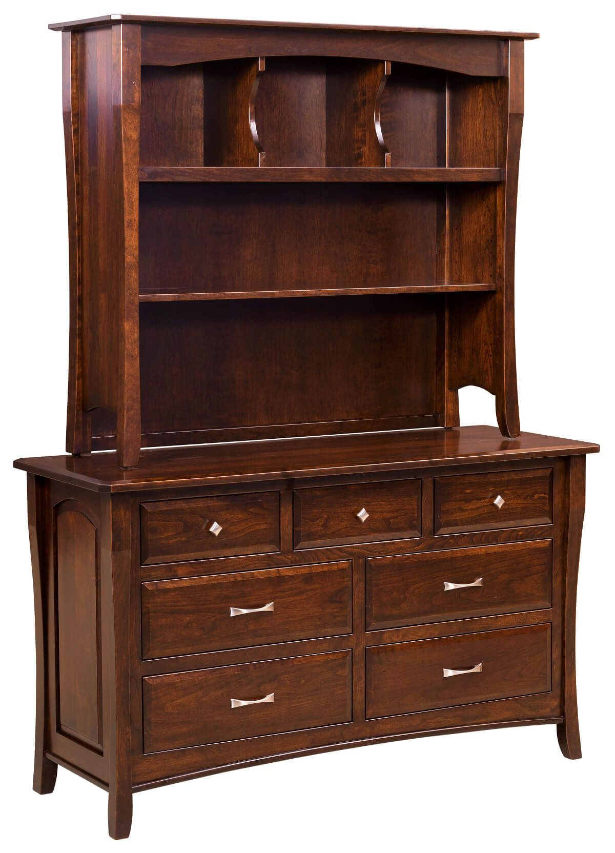 Luxembourg Baby Dresser with Hutch