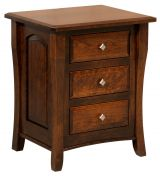 Luxembourg 3-Drawer Nightstand