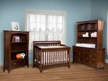 Luxembourg Solid Wood Nursery Set