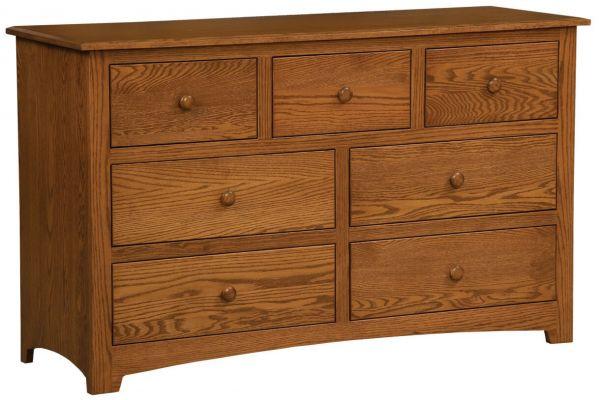 Salinas Low Dresser Countryside Amish Furniture