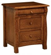 West Estates 3-Drawer Nightstand