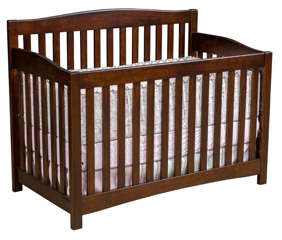 Salinas Crib in Rustic Cherry