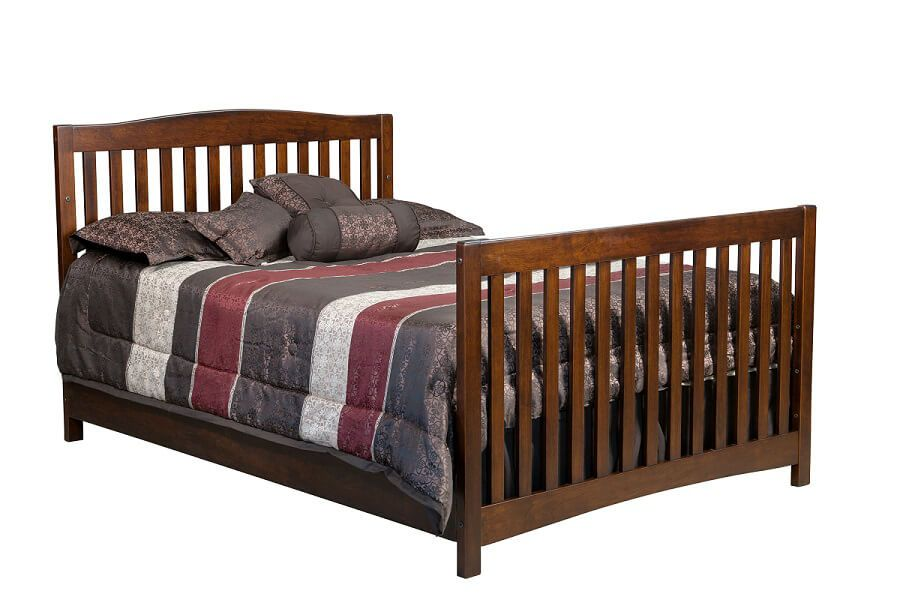 Salinas Full Bed in Rustic Cherry