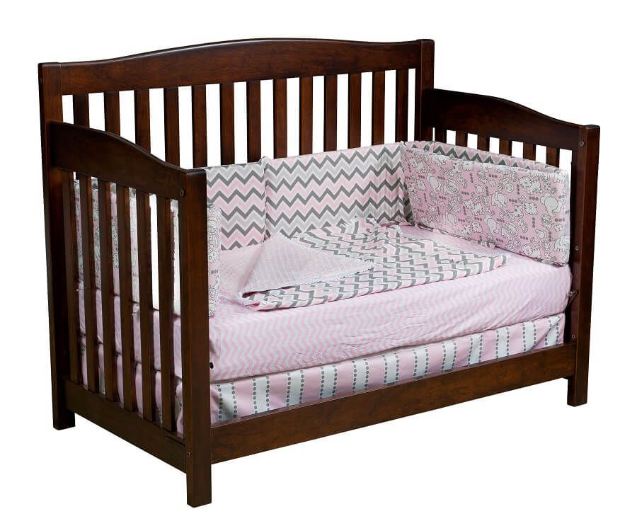 Salinas Toddler Bed in Rustic Cherry