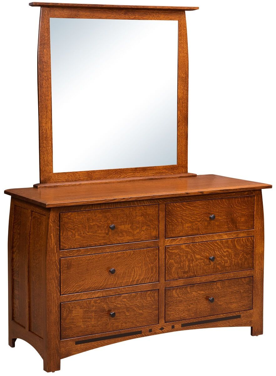 Craftsman Dresser with Mirror