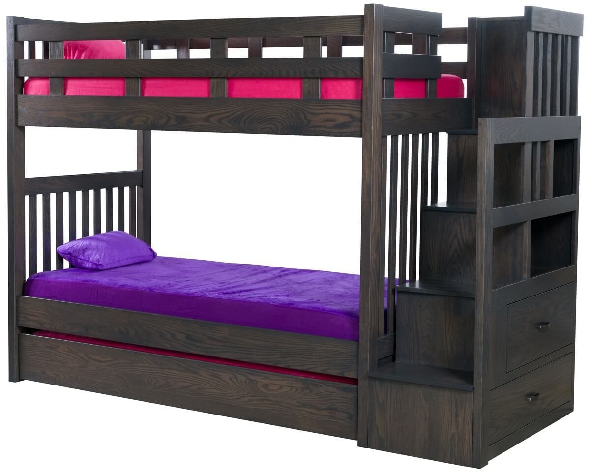 Frenchburg Bunk Bed with Storage