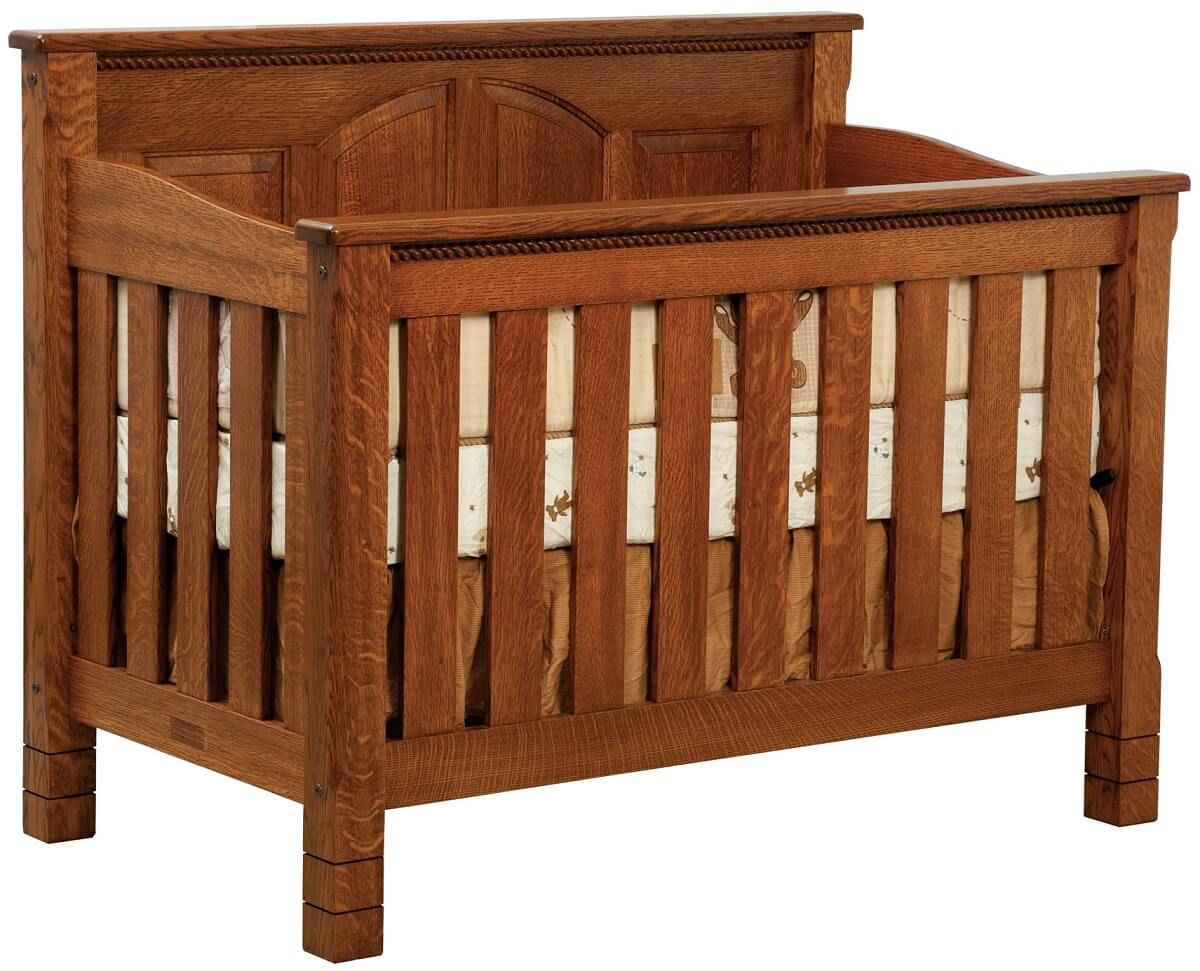Great Bear Solid Wood Baby Crib